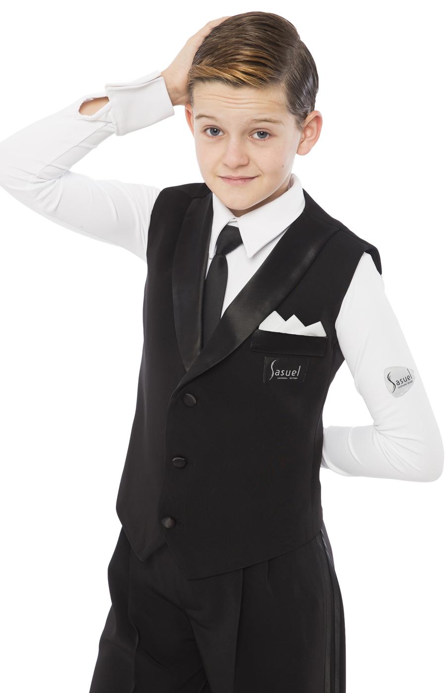 Boys ballroom basic waistcoat