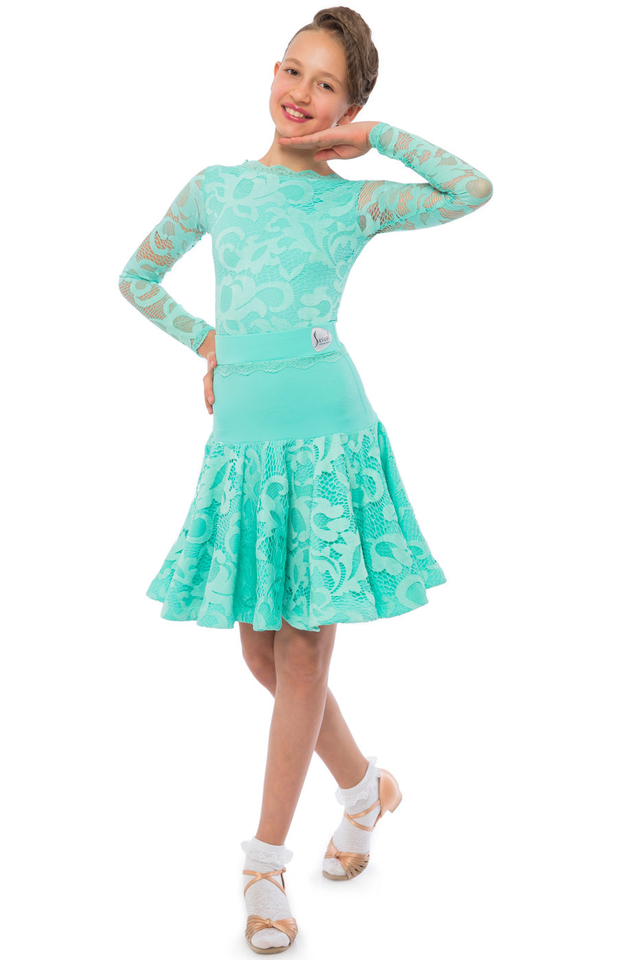 Elsa juvenile 3 piece dress