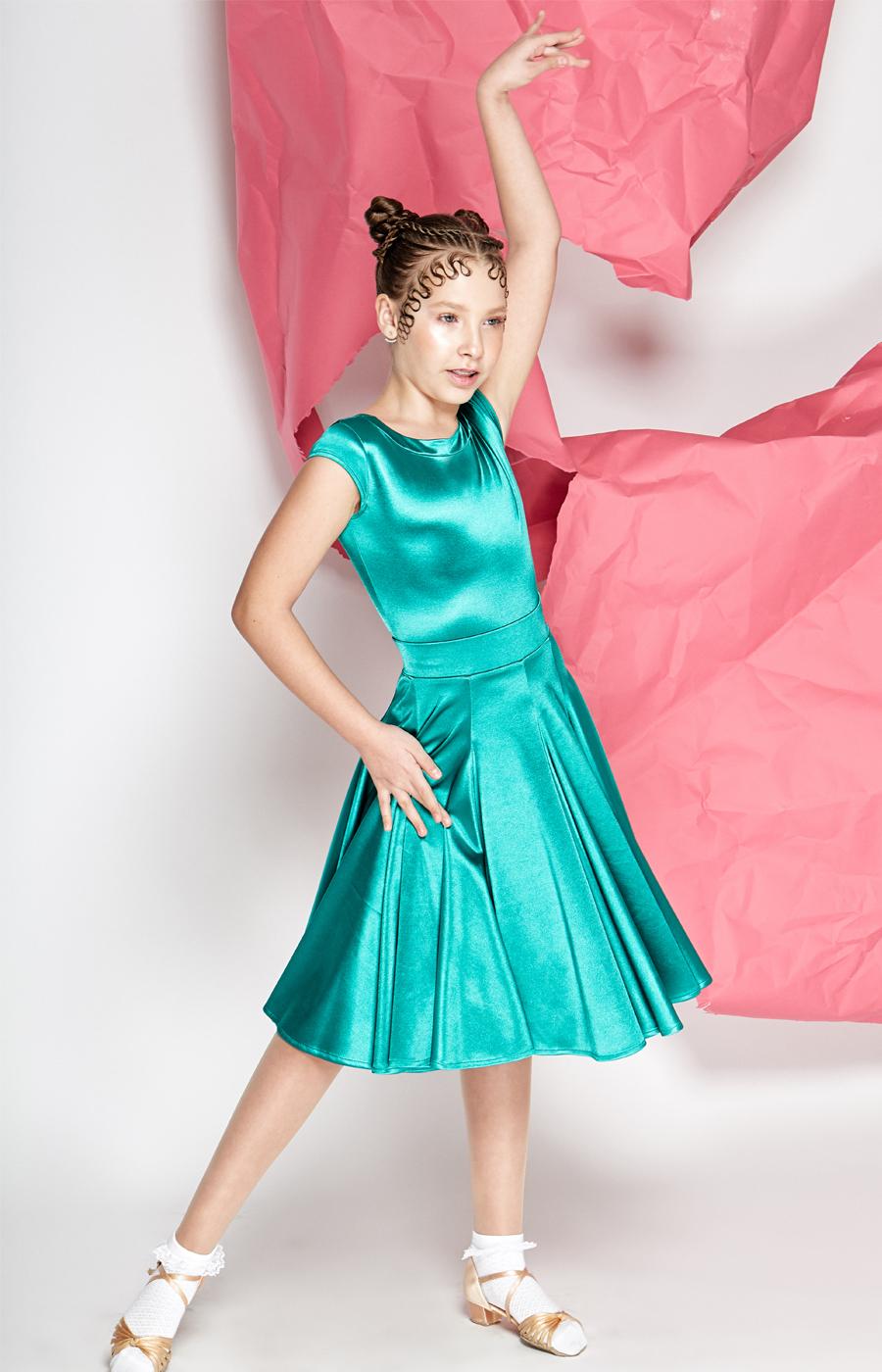 Jade juvenile dress