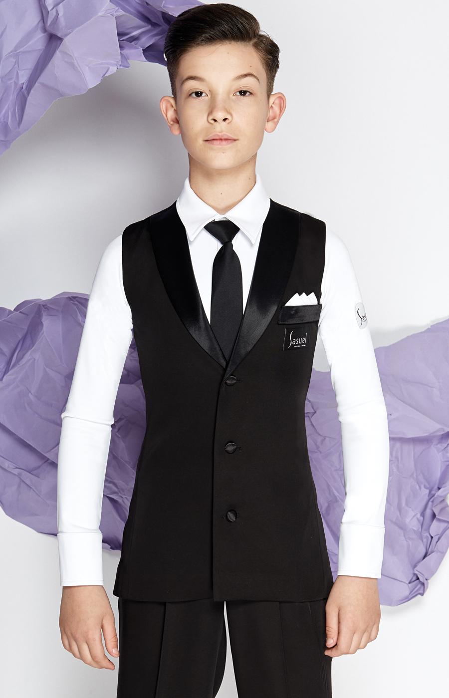 Junior ballroom longline waistcoat