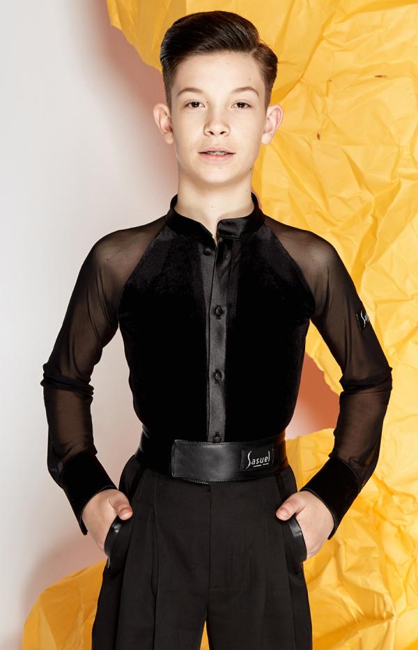 Junior latin shirt Benjamin
