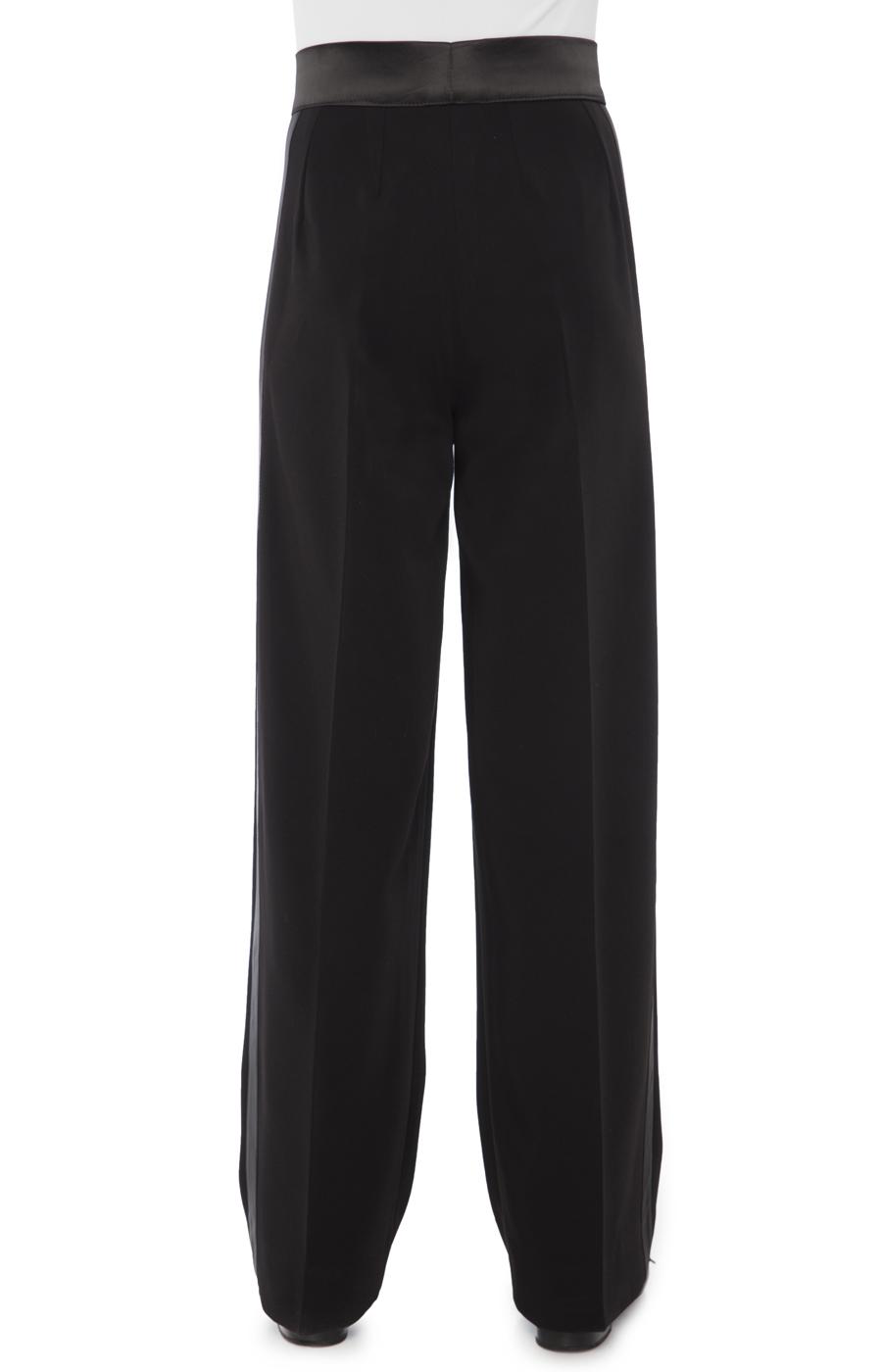 Juvenile trouser with satin binding