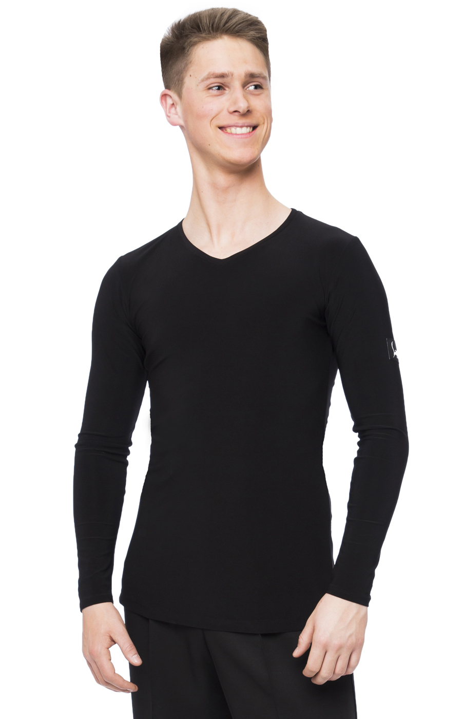 Men's practice V neck top