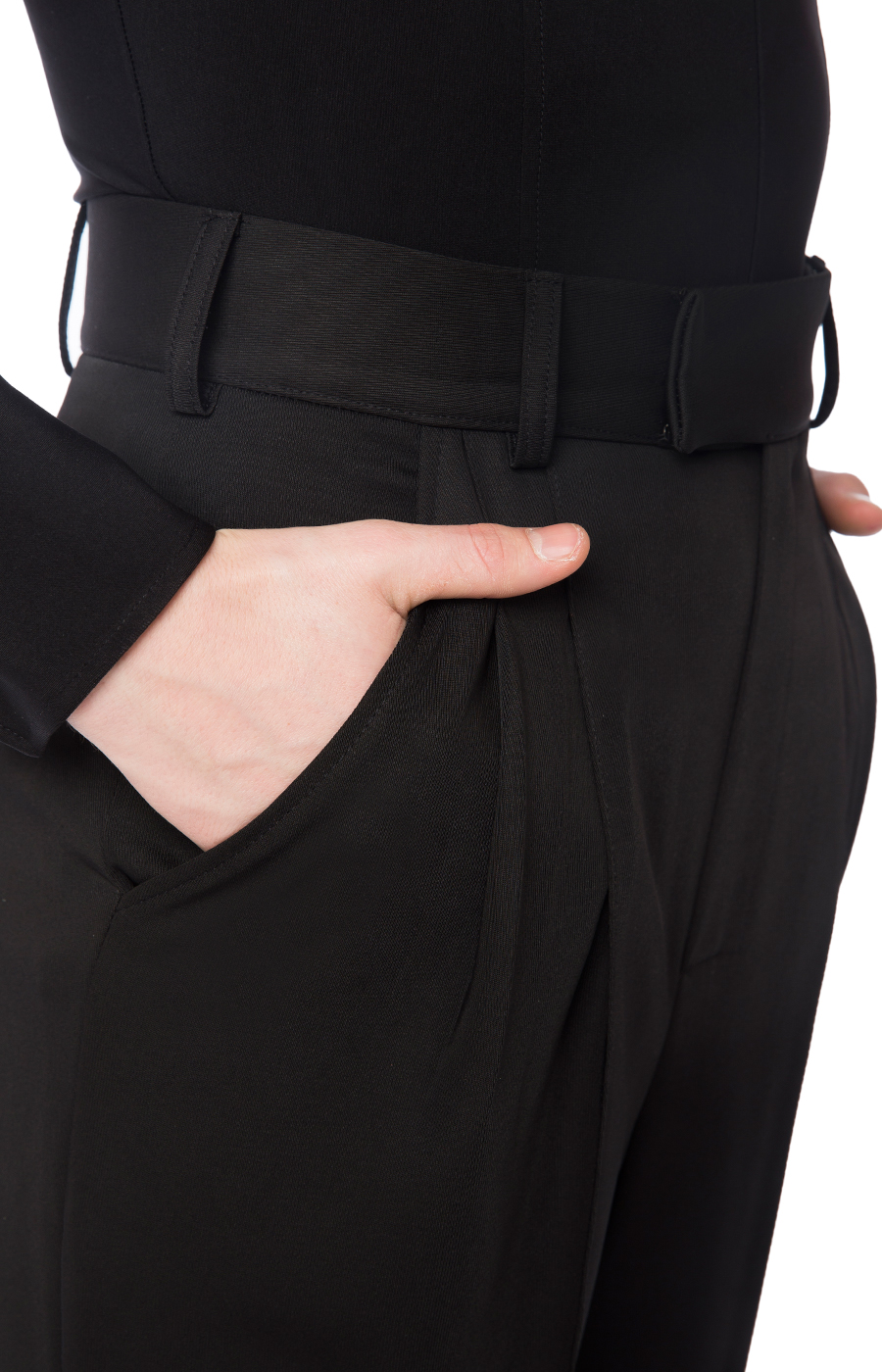 Practice trousers with pockets