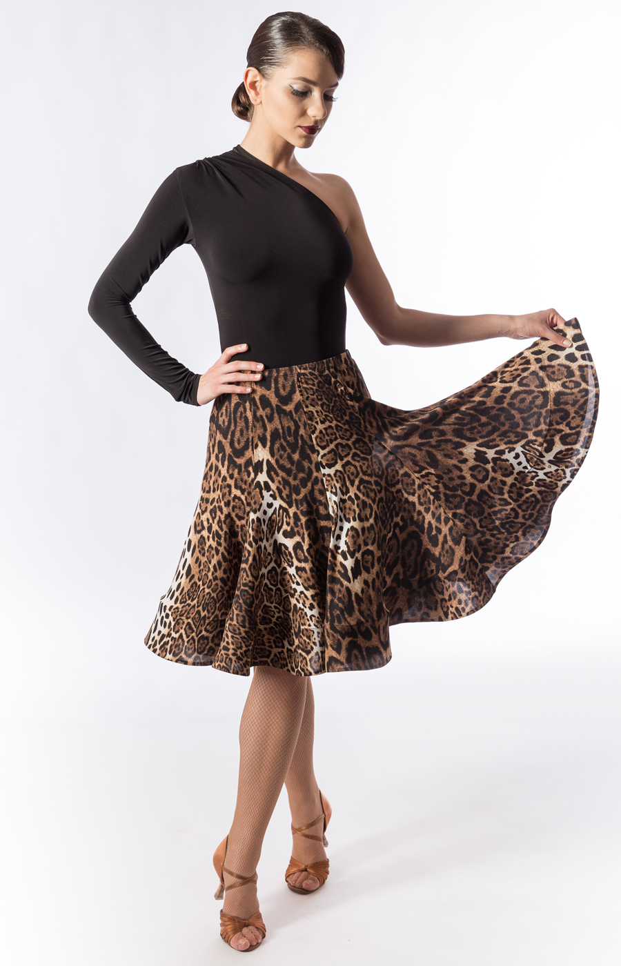 Leopard Nadine skirt_outlet