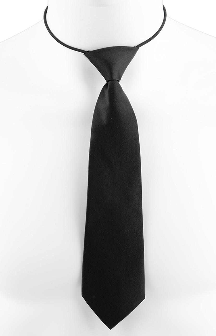 Necktie on elastic