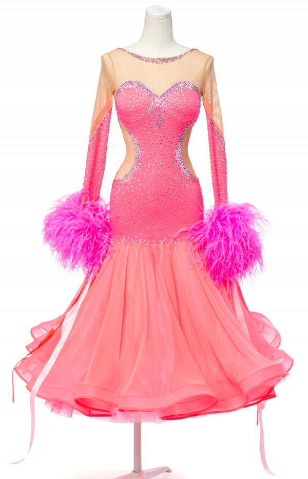 Ballroom dress Pink Grapefruit