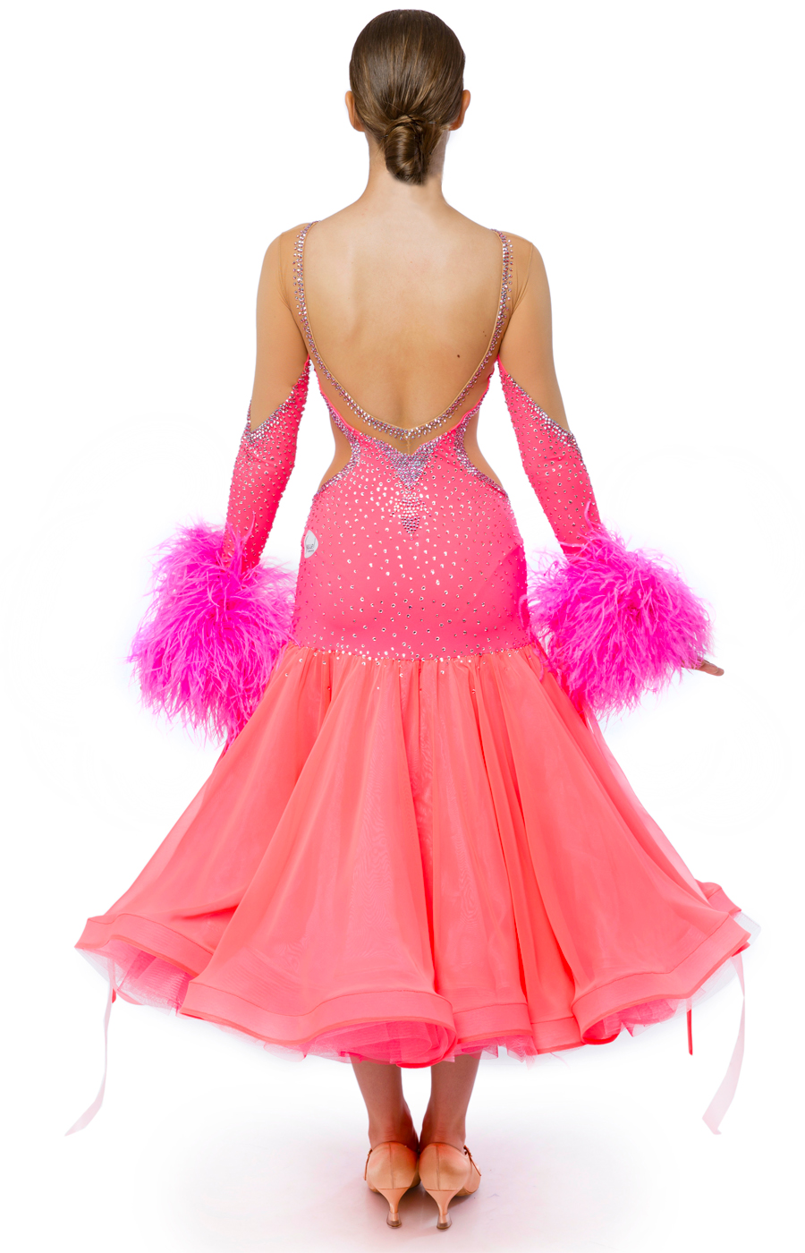 Ballroom dress Pink Grapefruit