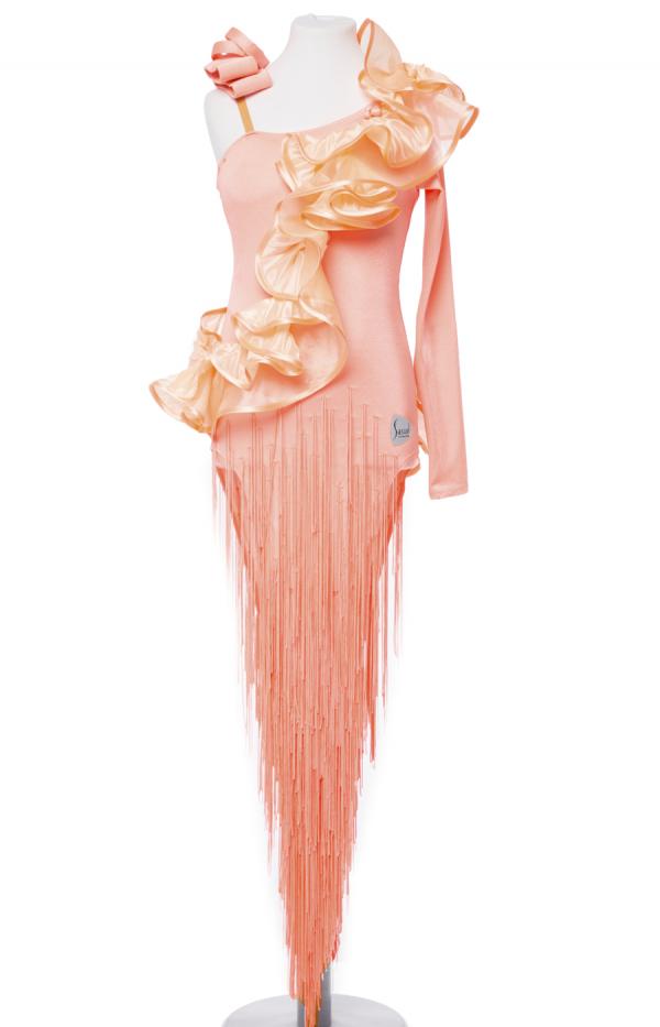 Latin dress Peach