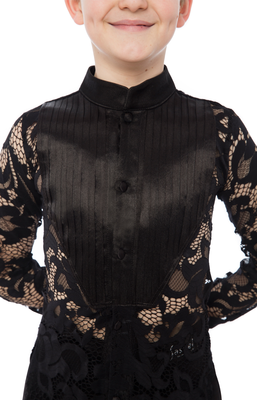 Latin junior lace shirt