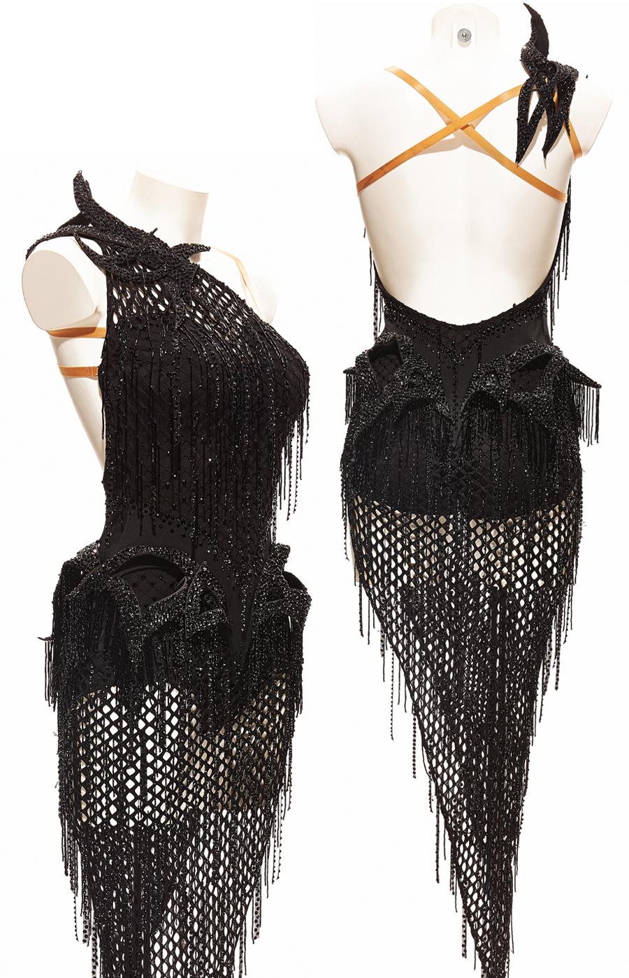 Black Medusa dress (Sponsored)