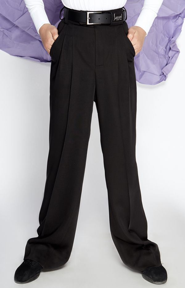 Latin trouser with belt loops_Boys