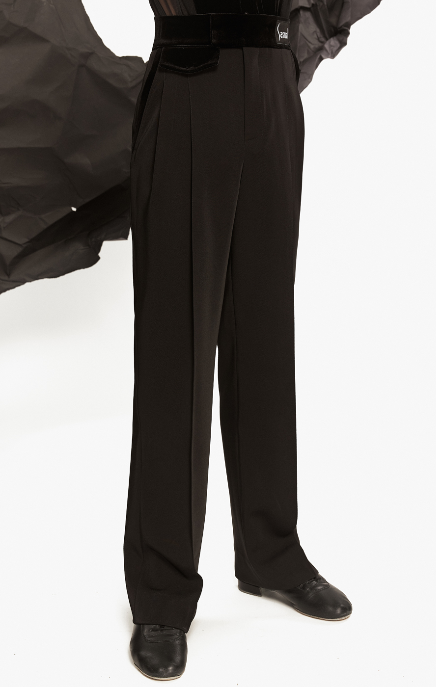 Junior latin trouser velvet pocket