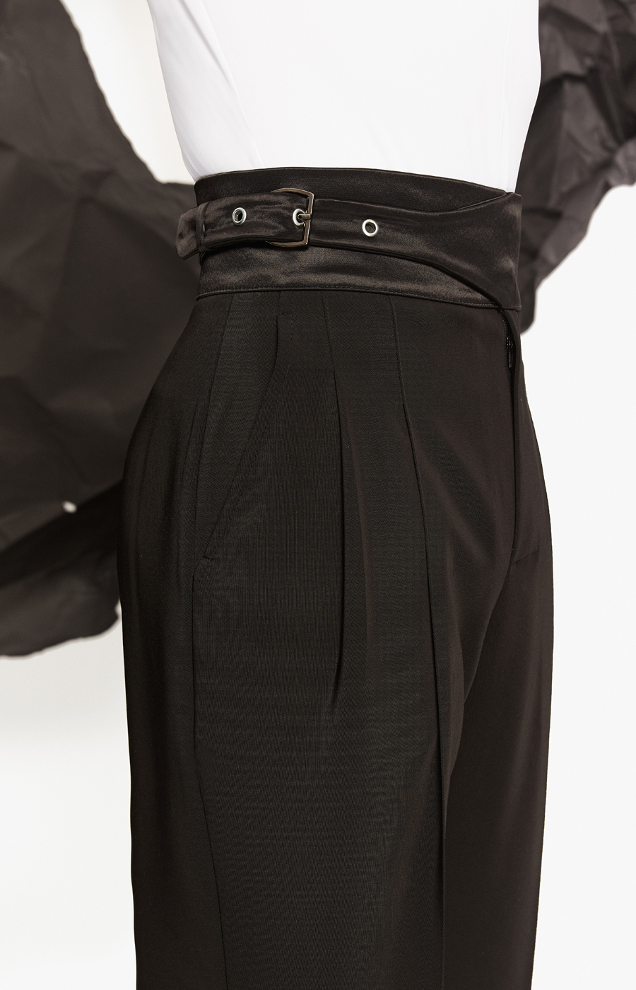 Junior latin trouser with buckle detail