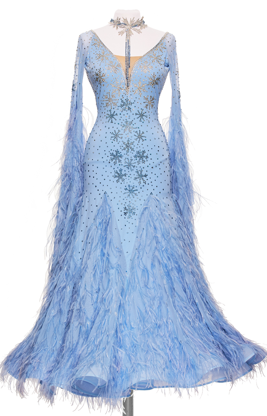 Ballroom dress Bluebell_Dream