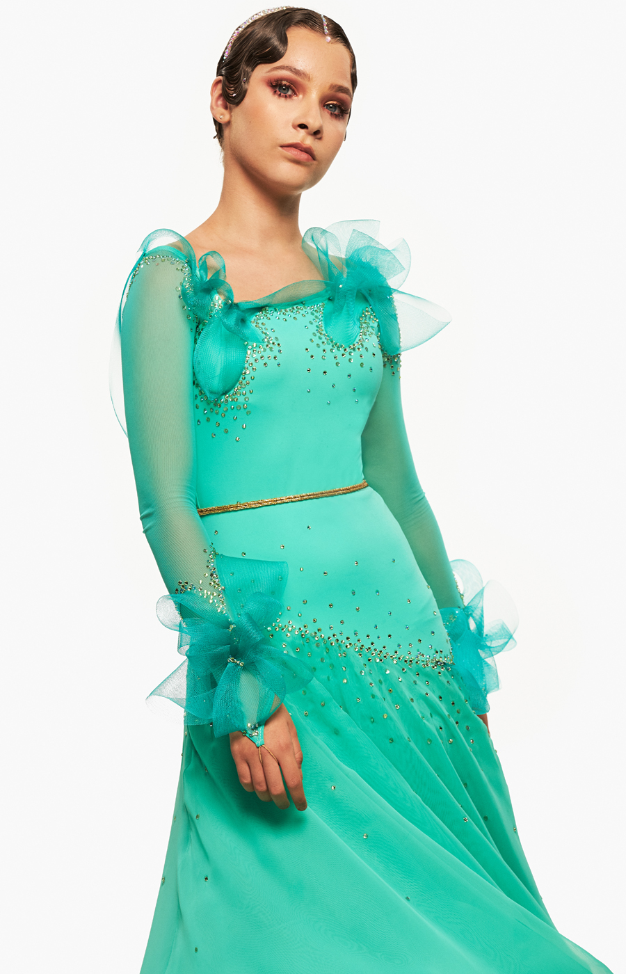 Ballroom dress Cool Aqua