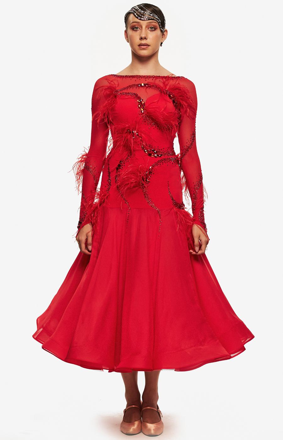 Ballroom dress Scarlet