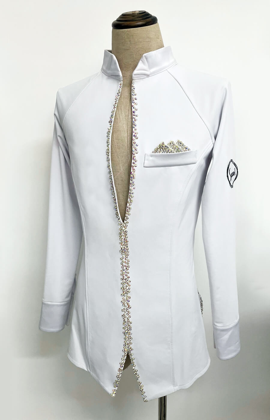 Crystallized latin shirt_outlet