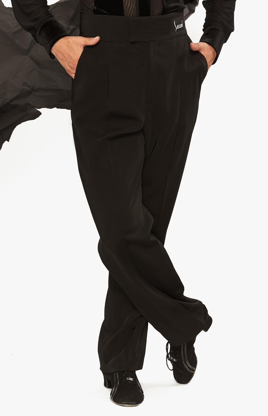 Men's latin trouser V shaped waistband