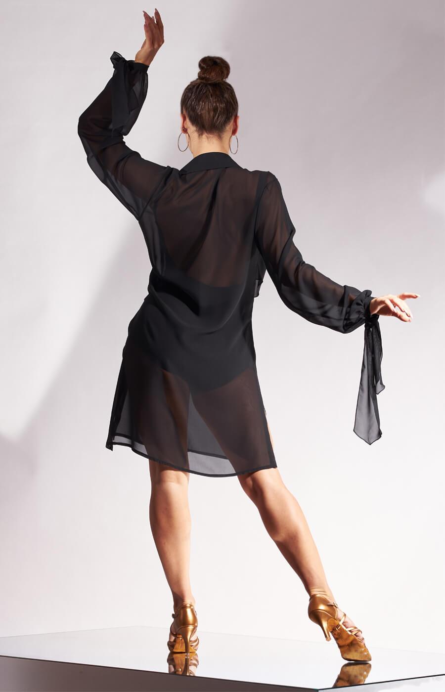 Margot Georgette Shirt Dress